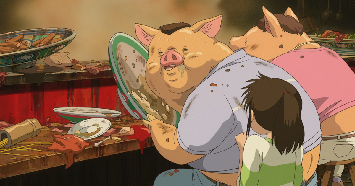 Studio Ghibli Finally Explained Why Chihiro S Parents Turned Into Pigs Bored Panda