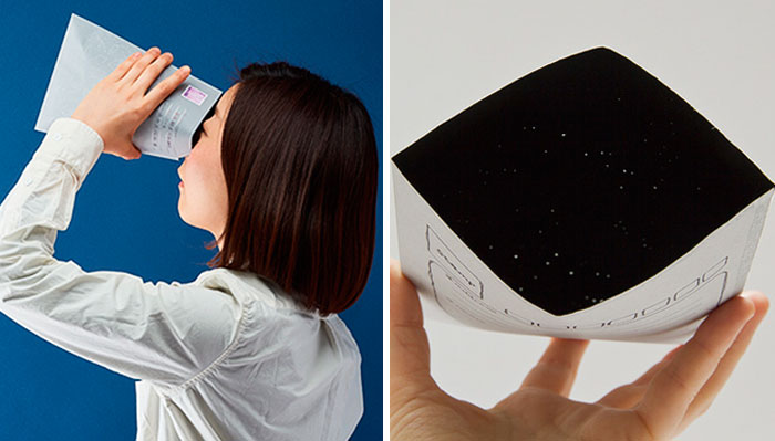 You Can Send Your Friends An Envelope With Entire Galaxies Inside It