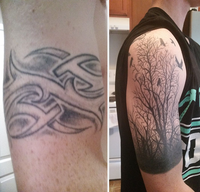 29bed6e68 These Are The Best 17 Tattoo Cover-Ups We've Ever Seen | Playbuzz