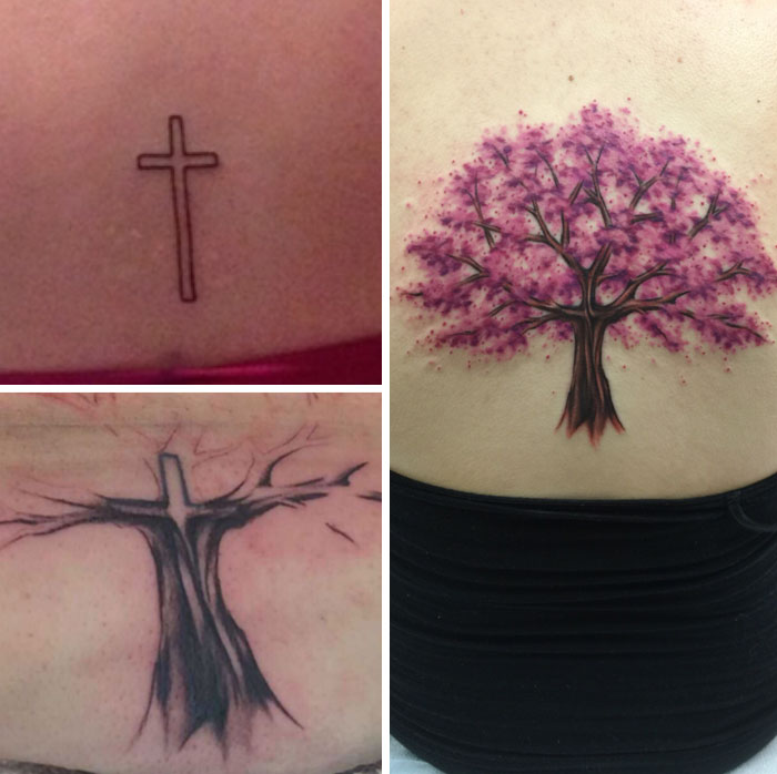 91acfe411 91 Creative Cover-Up Tattoo Ideas That Show A Bad Tattoo Is Not The ...