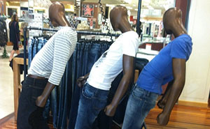 Challenge: Three Funny Mannequins