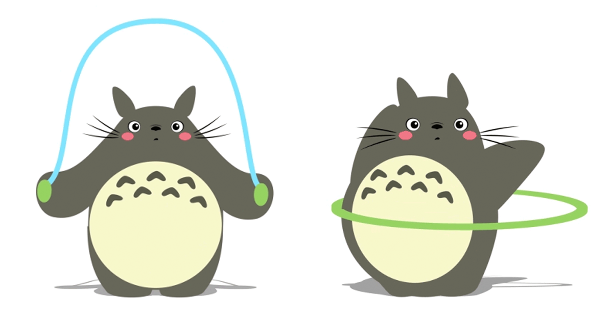 adorable totoro gifs that ll motivate you to start exercising