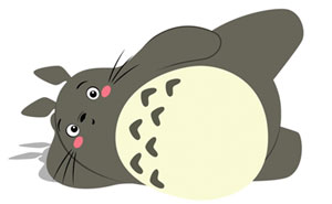 Adorable Totoro GIFs That'll Motivate You To Start Exercising