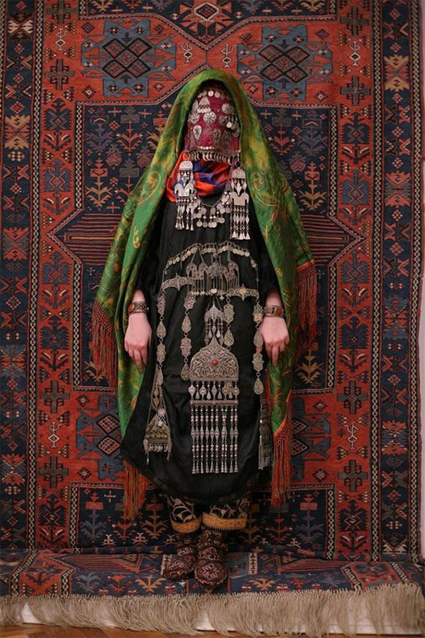 Avar Bride Wearing Traditional Costume