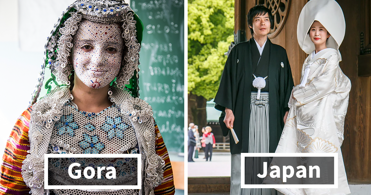 Take A Look At Traditional Wedding Outfits From Around The: The Only Magazine For Pandas