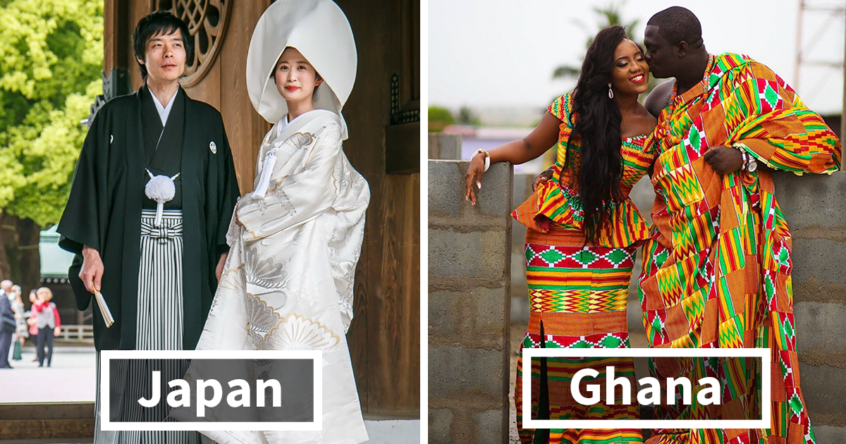 10 Wedding Traditions From Around The World One: How Traditional Wedding Outfits Look Around The World (38