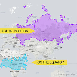 Russia On The Equator Is Not A Giant Bear Anymore