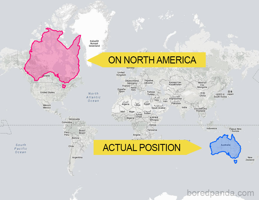 After Seeing These 15 Maps Youll Never Look At The World The – Big Map of Australia