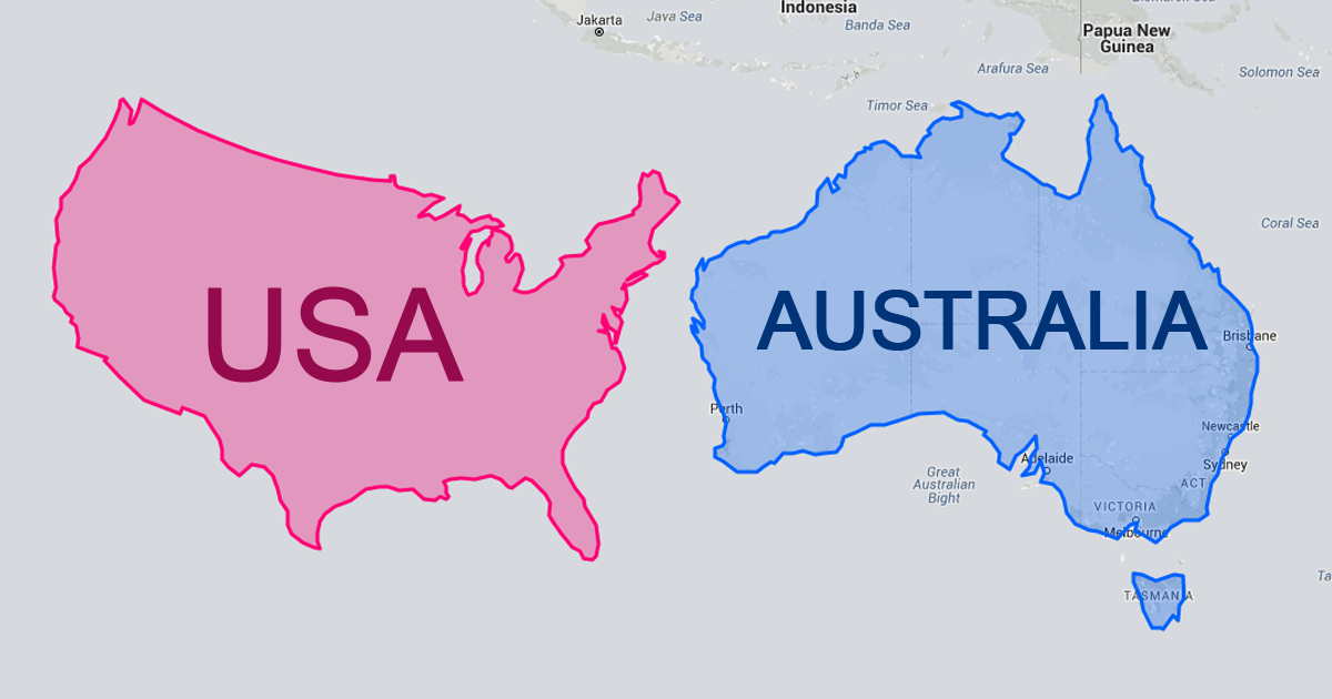 After Seeing These Maps Youll Never Look At The World The - World map to scale