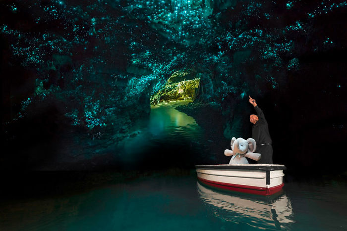 Exploring Waitomo Glowworm-caves In New Zealand