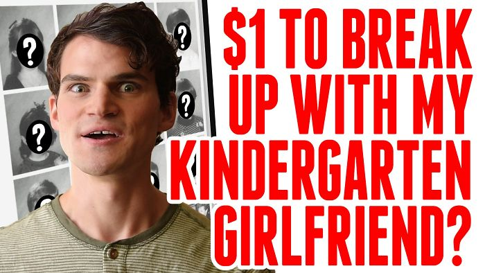This Man Is Trying To Find His Kindergarten Girlfriend – To Break Up With Her