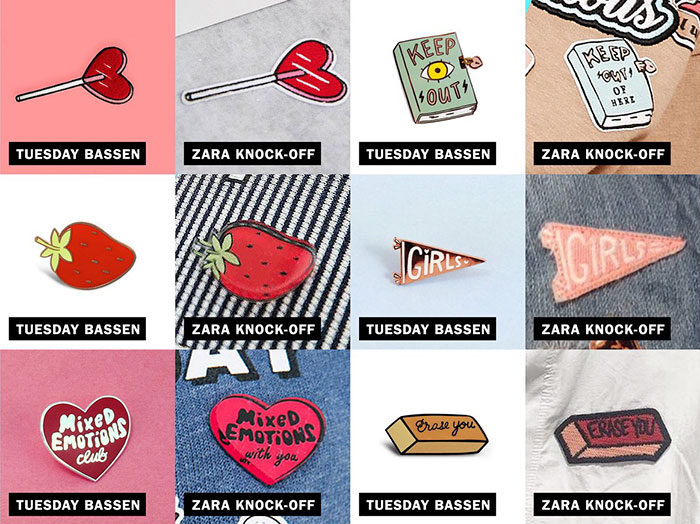 Zara Accused Of Stealing Designs From Independent Artists, And Here's The Evidence