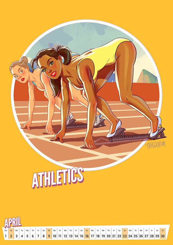 Summer Olympics Calendar