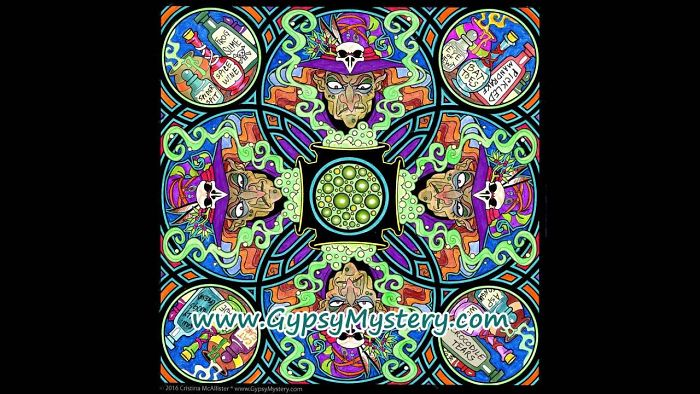 Monsters + Mandalas = Wicked-cool Designs