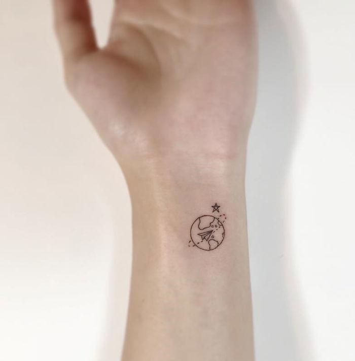 102 Minimalist Tattoos By A Korean Artist Bored Panda