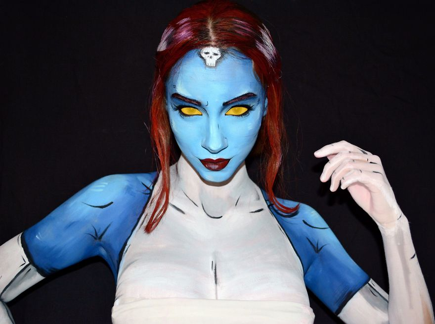 Comic Book Mystique