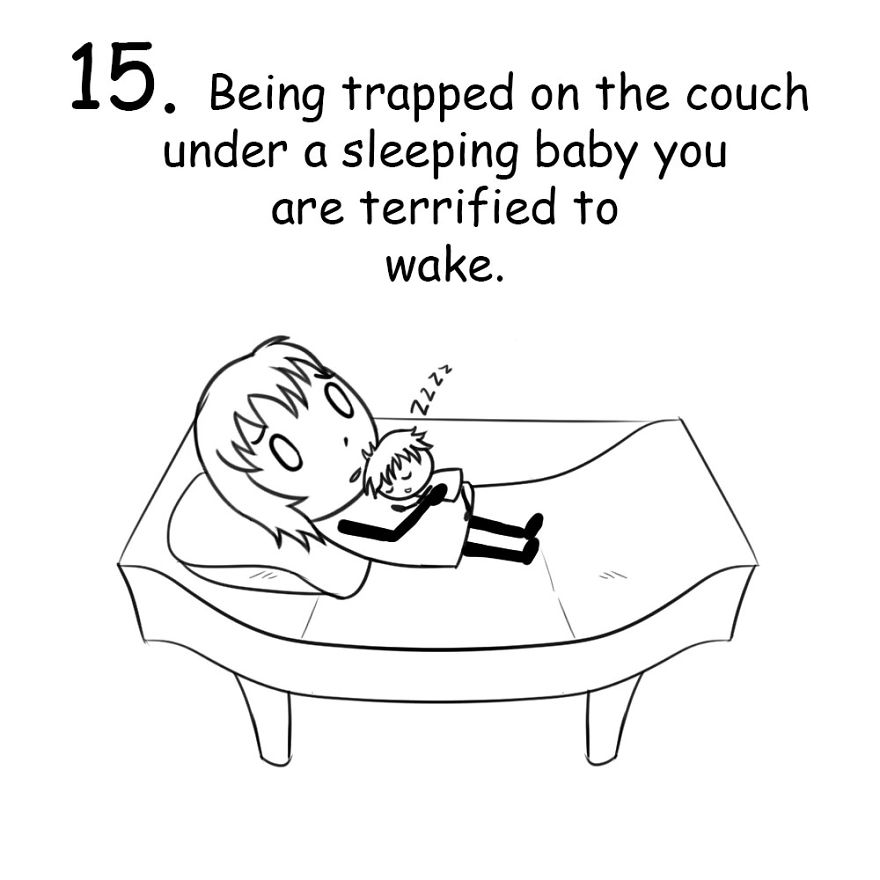 The funny And Terrifying Struggles That Only New Parents Will Understand