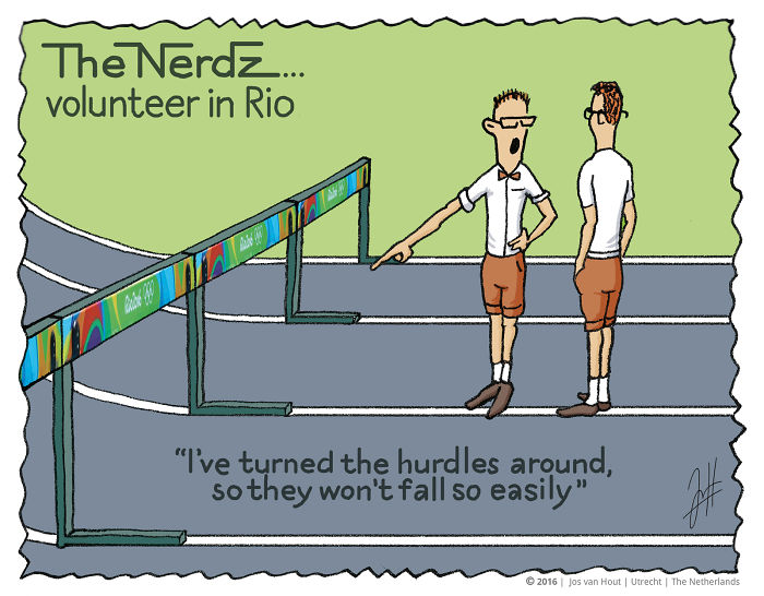 The Nerdz – Comics On Sports