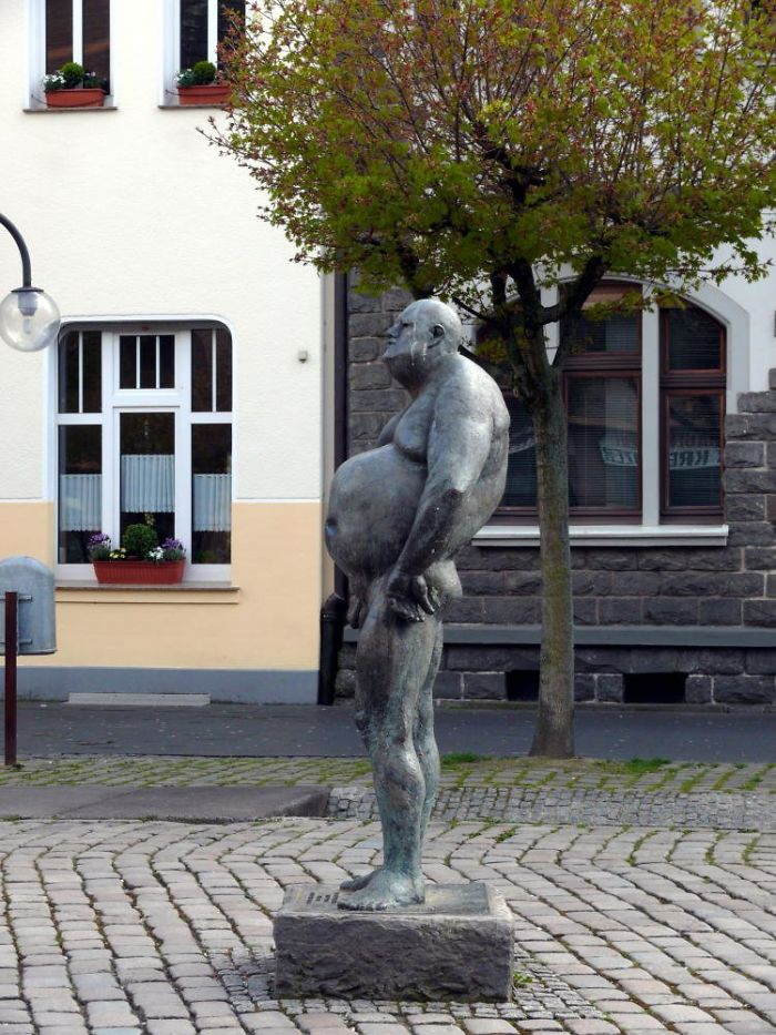 The Beer Gut Dude. You Can Find Him In Troisdorf, Germany.