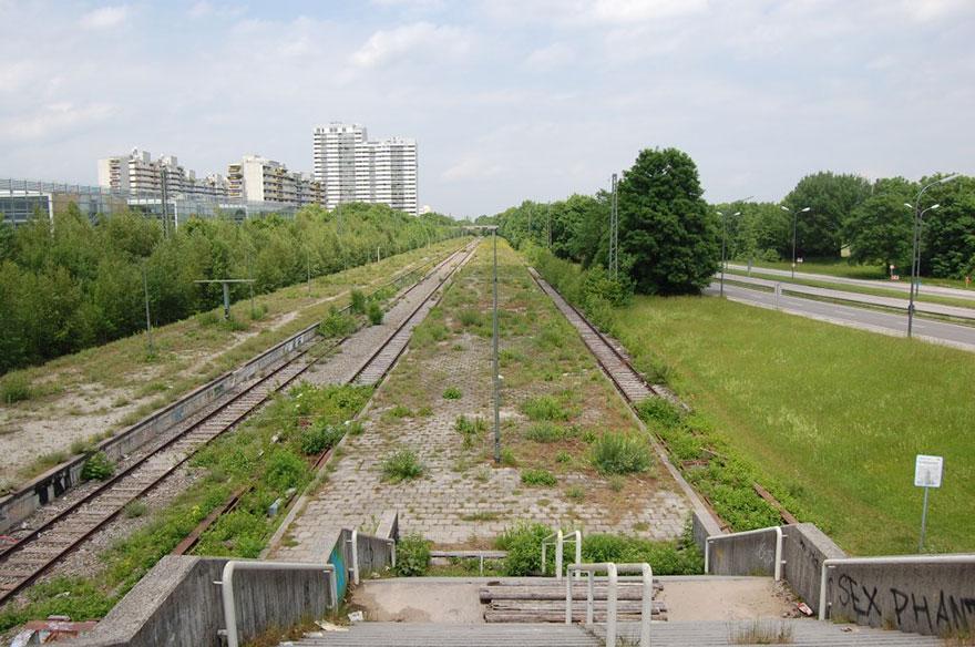 Olympic Stadium Train Stop, Munich, 1972 Summer Olympics
