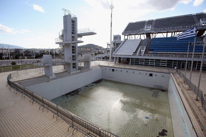 Diving Pool, Athens, 2004 Summer Olympics Venue