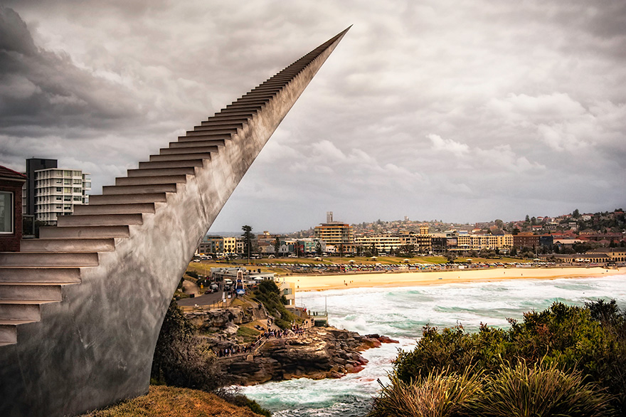 Disminuir y ascender por David McCracken, Bondi, Australia