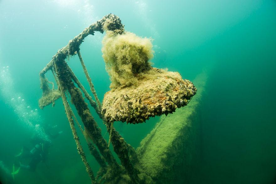 How We Went Diving In Underwater Prison In Rummu, Estonia