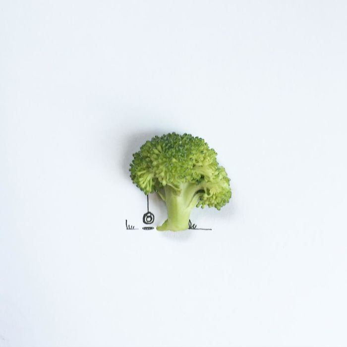 I Created Hundreds Of Witty, Miniature Drawings Around Tiny Everyday Objects