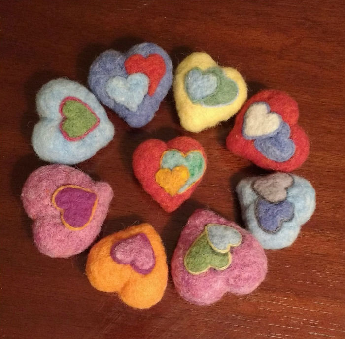 I Make Mommy Hearts For Little Hands To Hold While Mommy Is Away