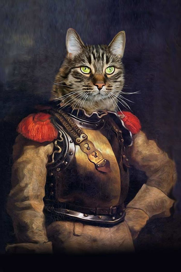 "Carabinier - ""cat-a-binier"""