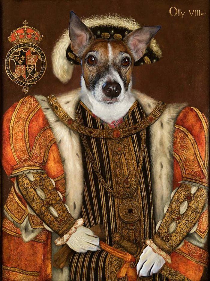 "King Henry Viii - ""king Hound-ry"""