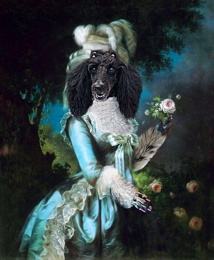 """Marie Antoinette - """"my-pee Auntie-pet"""""""