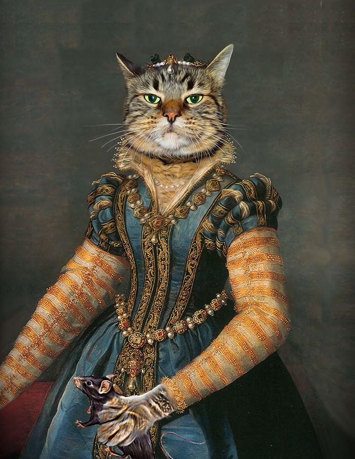 """Isabella De Medici - """"hiss-a-bella De Meow-dici"""""""