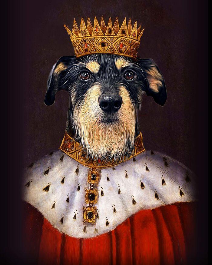 """King Henry I - """"king Hound-ry I"""""""