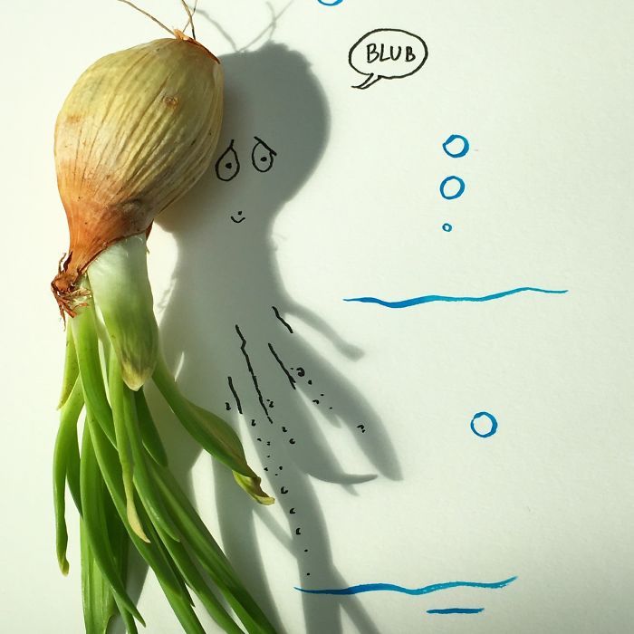 Onions Nearly Always Made The Lonely Octopus Cry