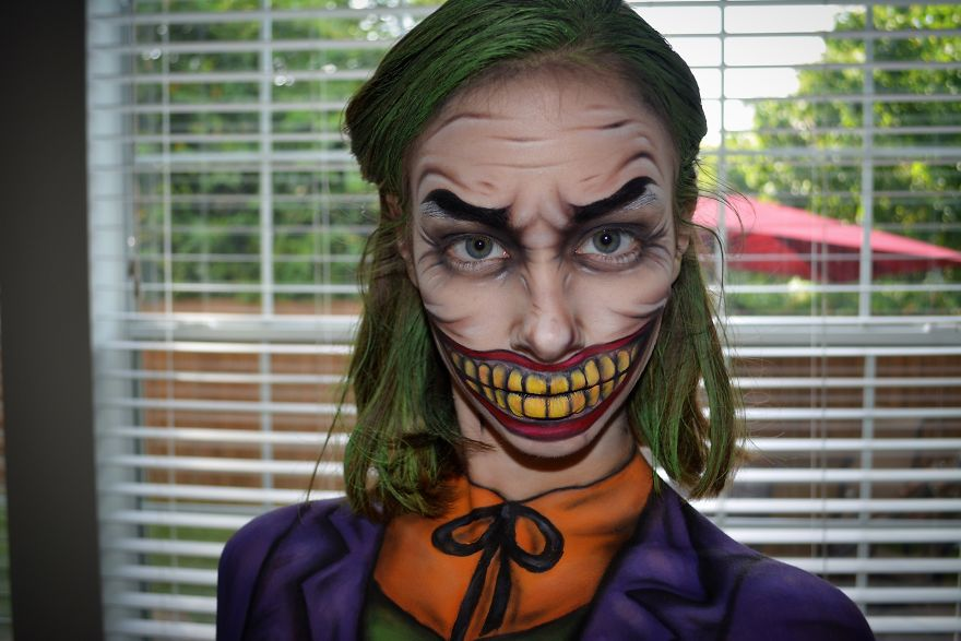 The Joker Inspired By Jordan Hanz