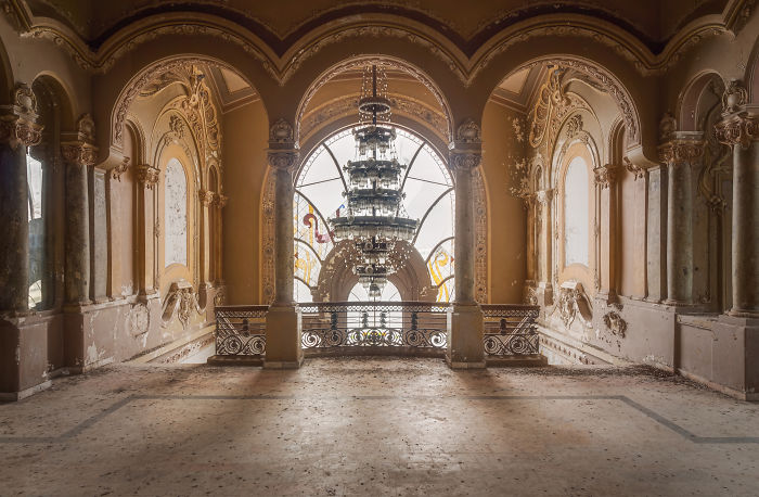 I Traveled To Romania To Photograph This Stunning Abandoned Casino