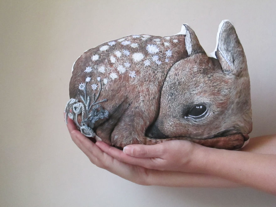 I Make Textile Creatures For People Who Love Nature, Dreams And Fairy Tales