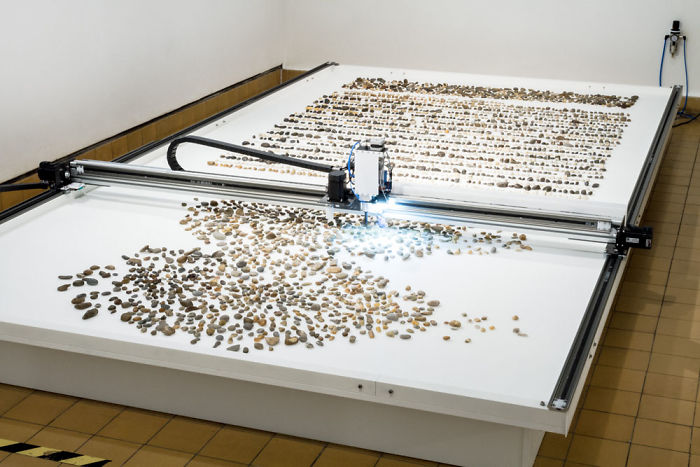 We Created A Machine That Sorts 1000s Of Random River Stones By Age
