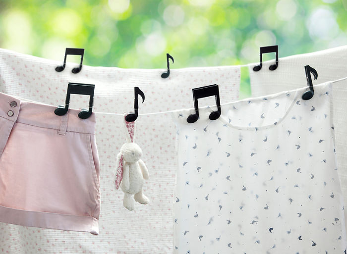 Laundry Clips For Music Lovers
