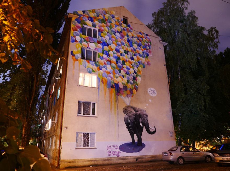 The Giant Art Transforming Kiev