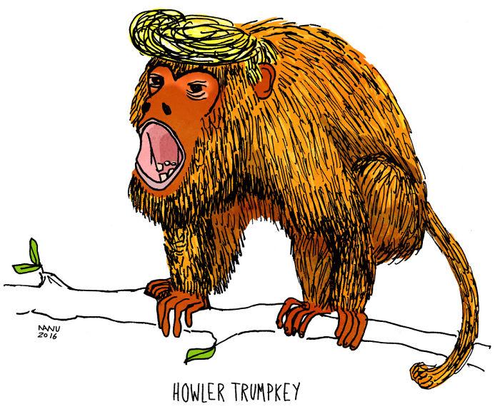 Howler Trumpkey