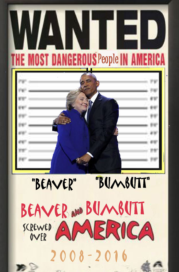 Wanted For Screwing Over America