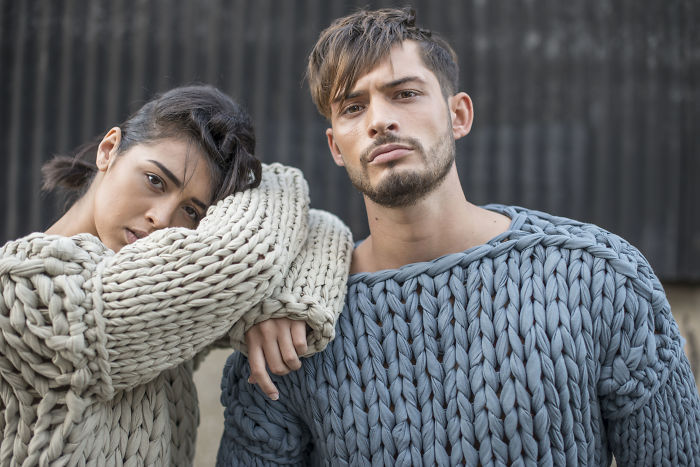 Consider Your Chunky Knit Jumper Reinvented