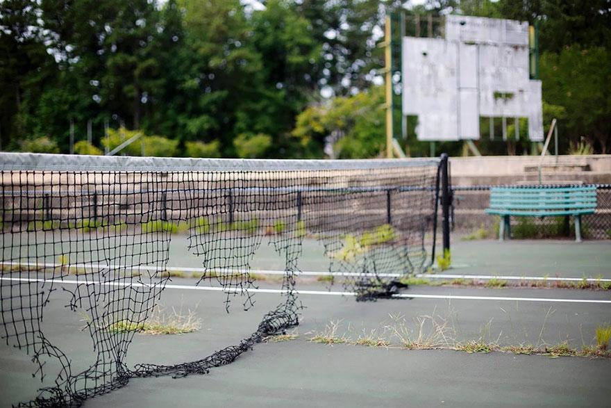 Tennis Court, Atlanta, 1996 Summer Olympics Venue