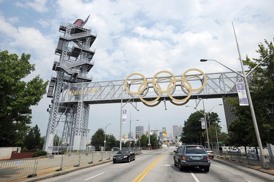 Olympic Games Cauldron, Atlanta, 1996 Summer Olympics Venue
