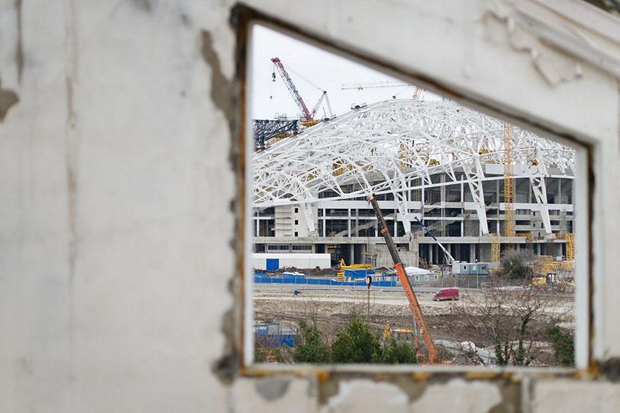 The Central Stadium, Sochi, 2014 Winter Olympics Venue