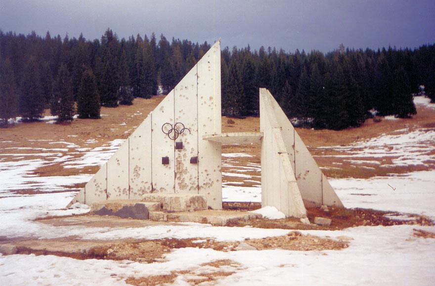 Olympic Rings Monument, Sarajevo, 1984 Winter Olympics Venue