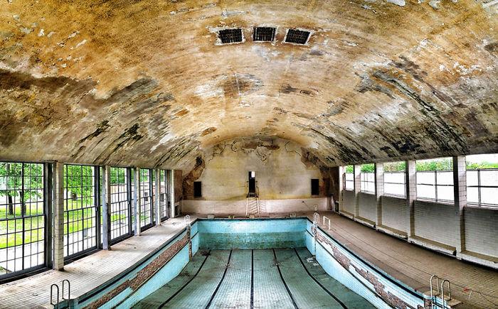 Swimming Pool, Berlin, 1936 Summer Olympics Venue