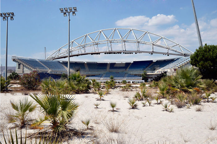 Beach Volleyball Centre, Athens, 2004 Summer Olympics Venue